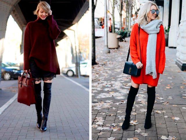 Ботфорты: С чем носить самую сексуальную обувь зимы