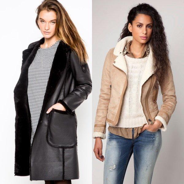 Женские дубленки: Как выбрать и с чем носить?