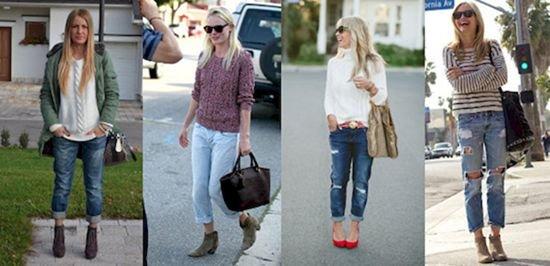 Стильные джинсы бойфренды: как выбрать и с чем носить