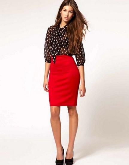 С чем носить юбку карандаш: модные советы и рекомендации