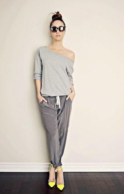 Женские спортивные штаны: как носить и выглядеть модно