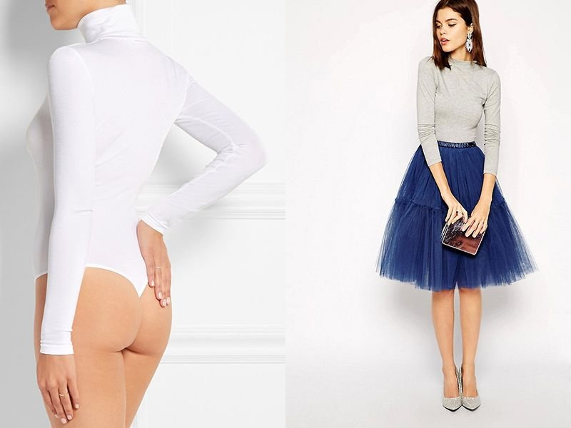 Как выбрать и с чем носить женское боди