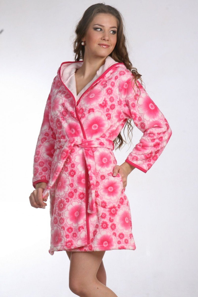 Выбираем модный женский халат: модели и фото халатов для дома